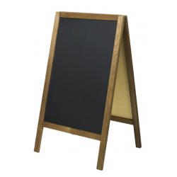 Chevalet tableau en ardoise noire pour restaurant ou bar - Tabouret transparent pas cher ...
