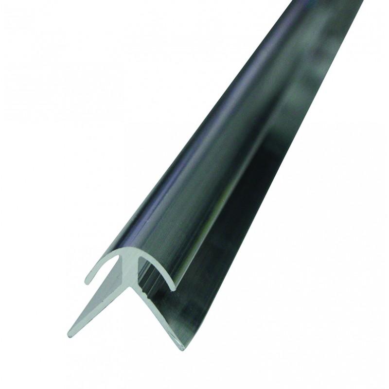 profil fin d 39 angle pour fixation de panneaux dibond 3mm. Black Bedroom Furniture Sets. Home Design Ideas