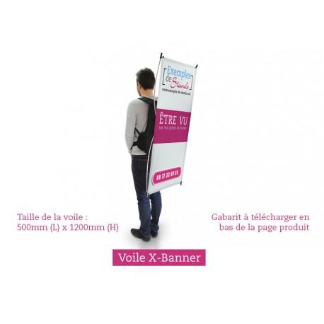Commandez une voile publictaire pour sac à dos publicitaire beachflag