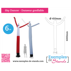 Sky Dancer - Danseur gonflable de 6m