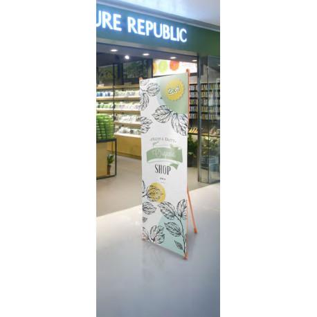 Kakemono en Bambou X-banner
