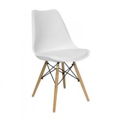 Chaise design pas chère blanche ou noire