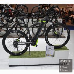 Présentation de cycle dans un magasin de vélo