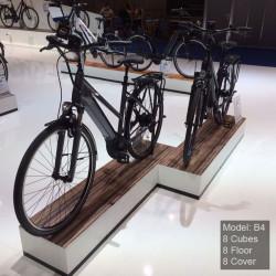 podium pour 2 vélos