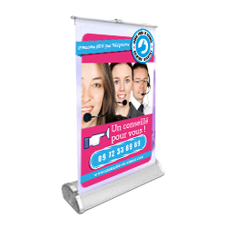mini roll up A4 en vente par internet